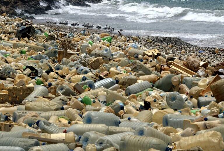 lixo napraiajpg - Cerca de 8 milhões de toneladas de plásticos chegam aos oceanos anualmente