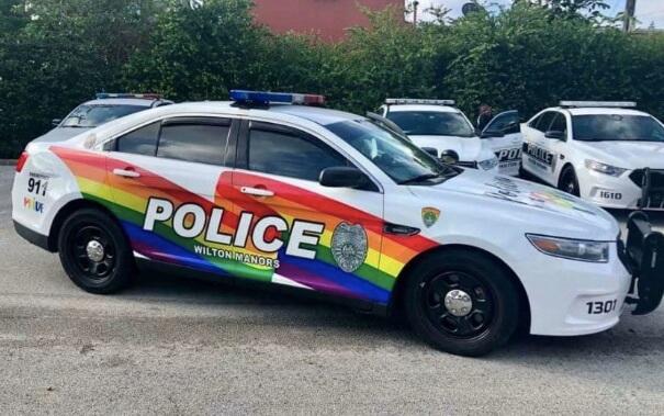 Police Vehicle Wilton Manors - A cidade da Flórida que tem um governo não partidário 100% LGBTQ