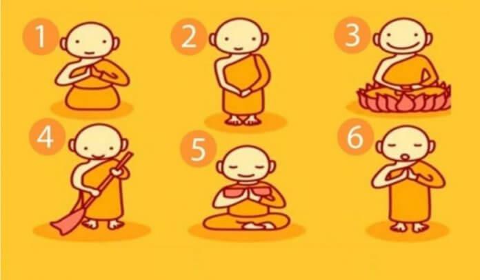 monge escolha 696x406 - Escolha um monge e você receberá uma mensagem poderosa!