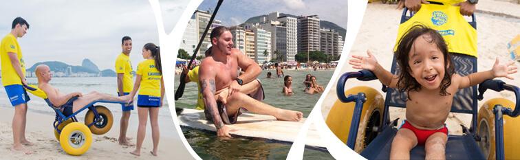 praiaparatodos - O sucesso das iniciativas de inclusão social em cidades brasileiras