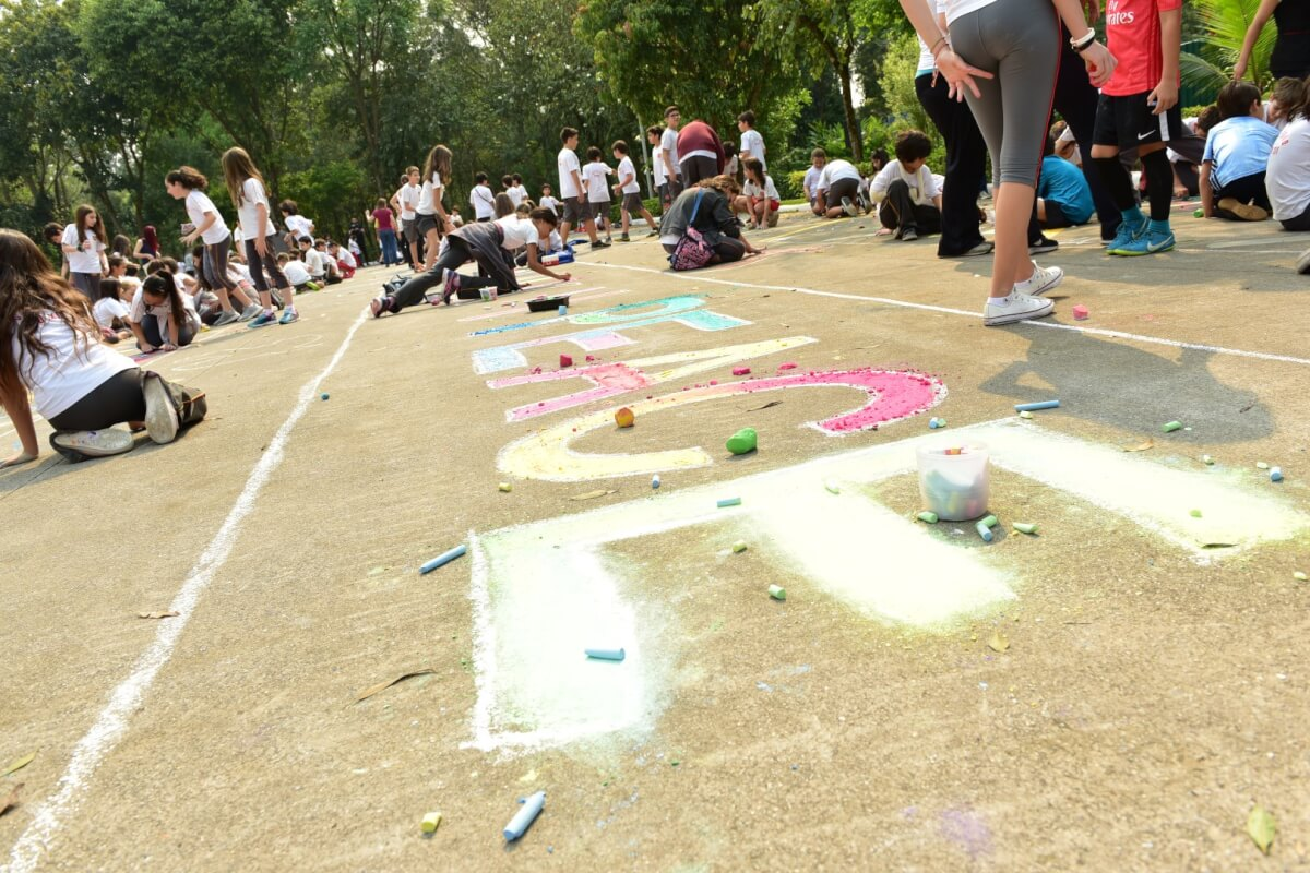DSC 9717 Large - Escolas públicas e privadas abraçam projetos que promovem integração com a comunidade  e uma cultura de paz