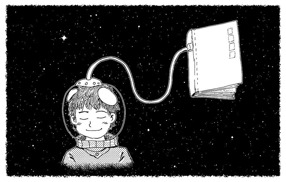 imaginacao2 - A criança que lê torna-se um adulto mais pensante, mais humano e livre