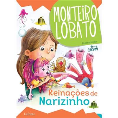 reinacoes de narizinho monteiro lobato - 12 livros infantis para você se divertir com suas crianças
