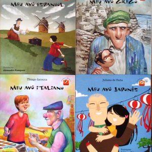 imigrantes 300x300 - 8 livros infantis para estreitar os laços com os avós
