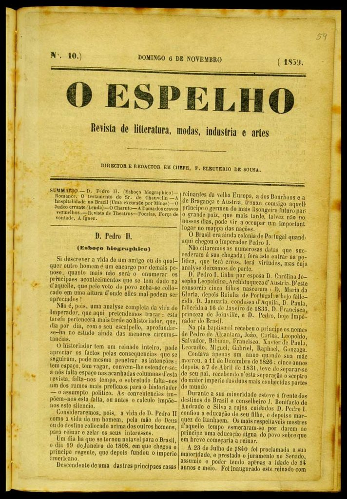 biografia machado.1 712x1024 - O estilo machadiano é encontrado numa biografia de Dom Pedro II